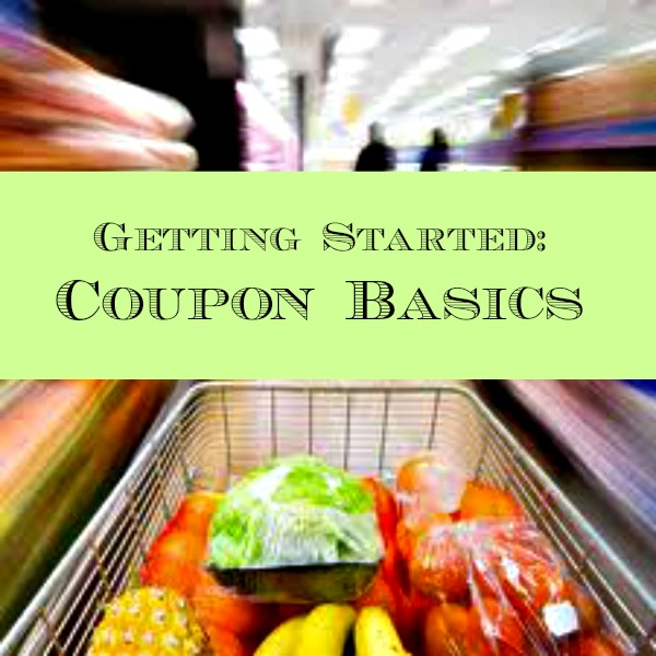 getting started coupon basics