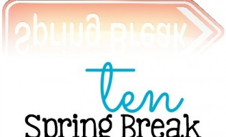 It's almost Spring Break time. If you're searching for ideas on what to do for Spring Break, here's a few to check out- 10 Spring Break Activities To Do This Week