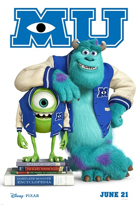 monsters u mike and sulley