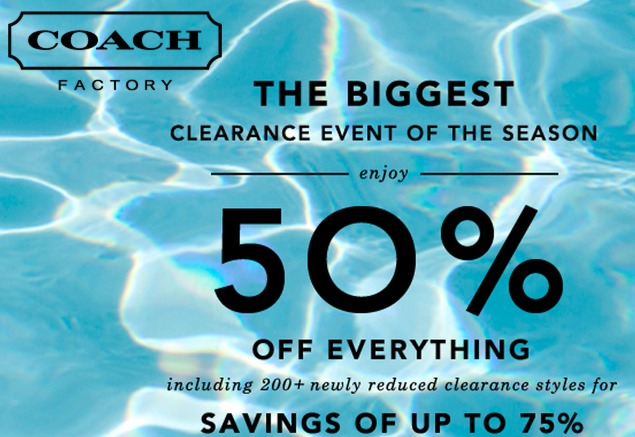 Coach factory outlet online coupons 2018