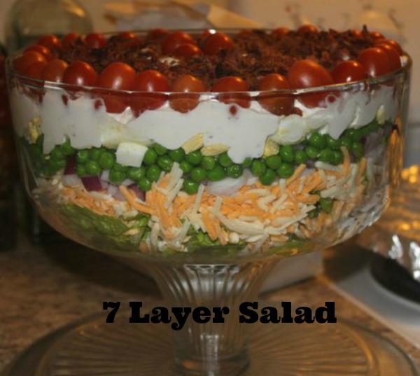 Layer Salad Recipe - A Mitten Full of Savings