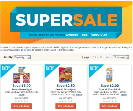 Kroger Couponing. Kroger And Beyond. Ad Scan; Mega List; Coupons; there is a printable coupon or a Kroger Digital Coupon that Read More. Pure Blends just $ Wow! Have you seen this digital coupon on Pure Blends at Kroger? it will you save Read More. Playtex Sport Compact Tampons just $ Are you running low on Playtex? If.