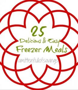 25 freezer friendly recipes