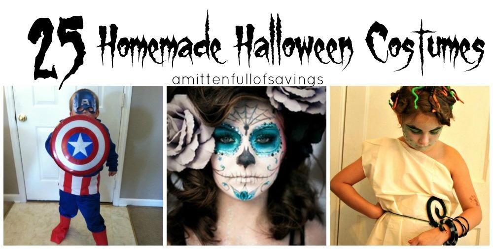 25 homemade halloween costumes