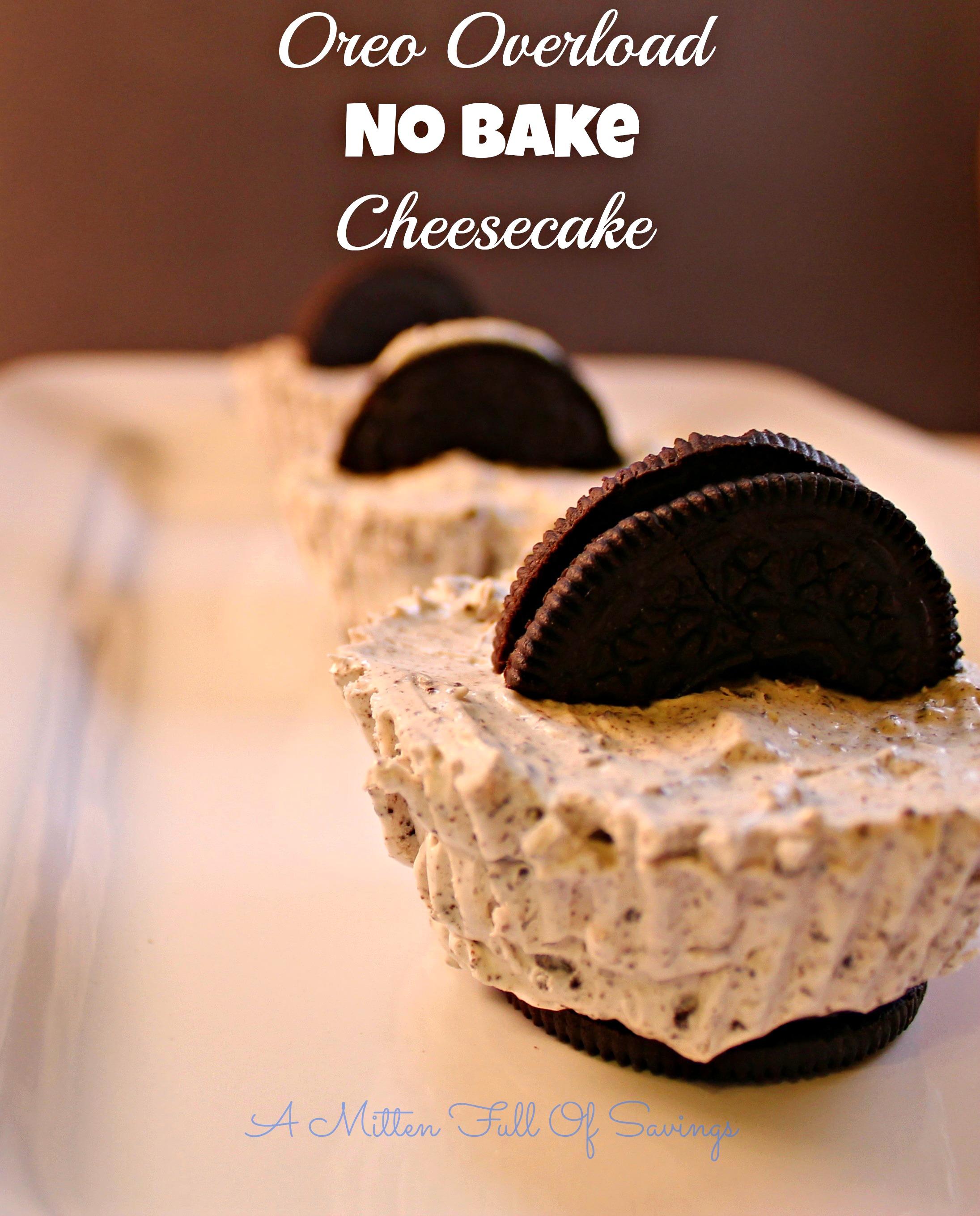 how to make oreo cheesecake cookies no bake