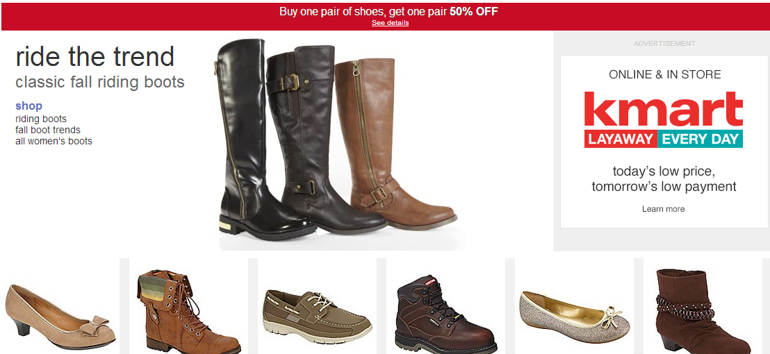 WOW! What a great way to stock up on all of your fall shoe needs