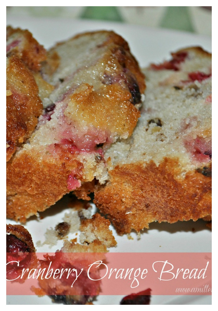 Cranberry Orange Bread Recipe - A Mitten Full of Savings