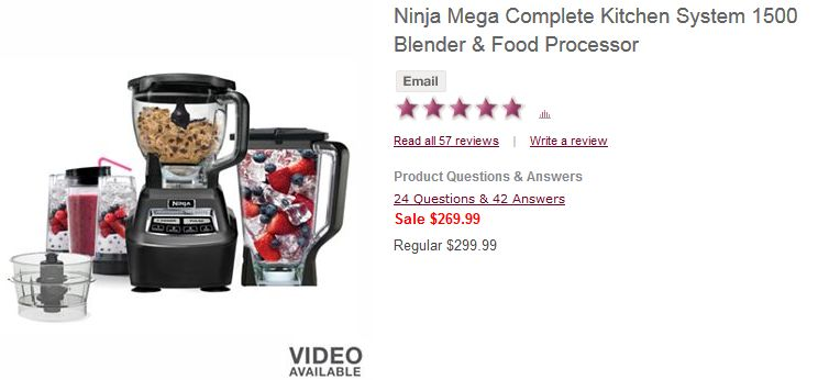 Ninja Mega Kitchen System Coupon 2015 Best Auto Reviews