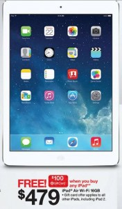 target ipad air black friday deal