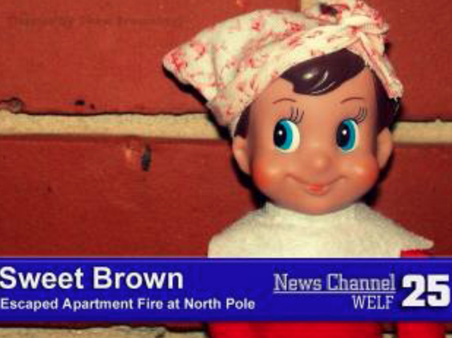 elf on the shelf aint nobody got time for that