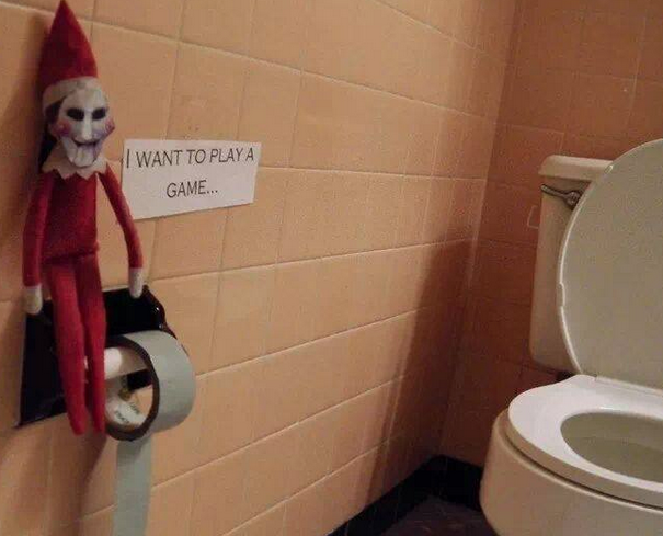 elf on the shelf inappropriate ideas
