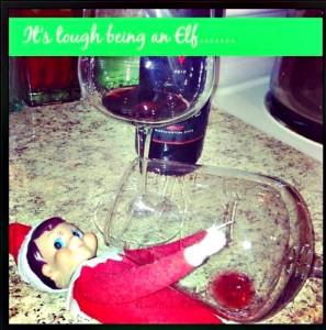 its tough being an elf elf on the shelf ideas