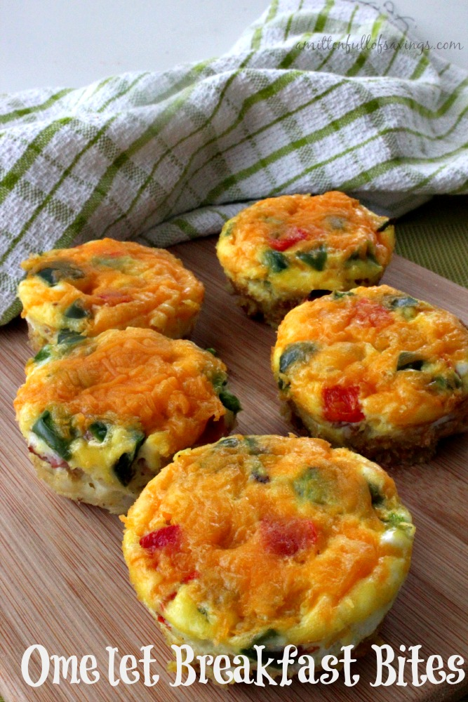 Easy To Make Breakfast Recipes Omelet Breakfast Bites