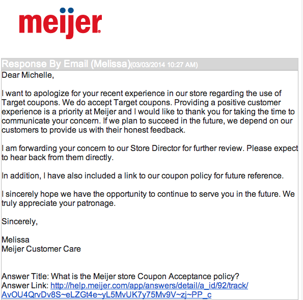 Aug 10,  · · Meijer does not accept competitor coupons intended for redemption at other retailers. · If the value of a coupon is more than the price of the item after discounts or other coupons have been applied, the value of the couponwill be applied up to the reduced price of the item.