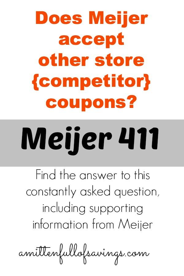 Meijer printable coupons