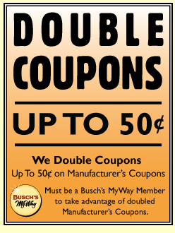 Does kroger double coupons in michigan