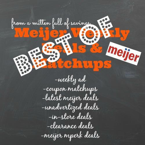 best of meijer deals