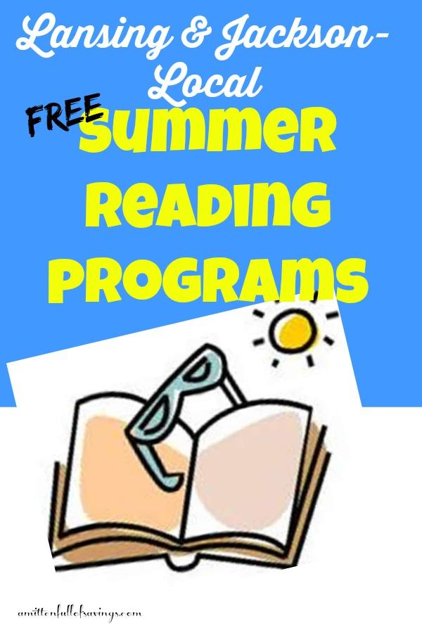 lansing jackson free summer reading programs