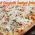 Baked Spaghetti {budget-friendly}