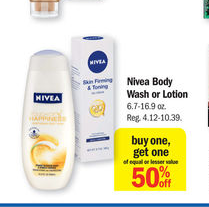 Meijer: Nivea Body Wash Just .59 cents- Lotion $2.14 - A Mitten Full of Savings