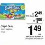 Kroger MEGA Deal: Capri Sun Juice Boxes .99 cents