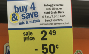 meijer kellogg promotion buy 4 save 2