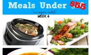 Meijer Meal Planning Week 9/14: 7 Gluten Free Meals Under $55