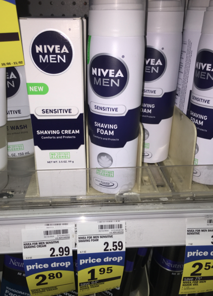 Meijers: Meijer Price Drop Deals on Nivea for Men Products