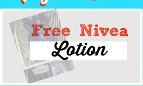 free nivea lotion