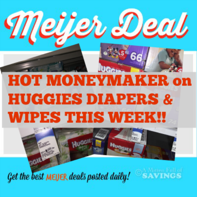 hot moneymaker on diapers and huggies wipes