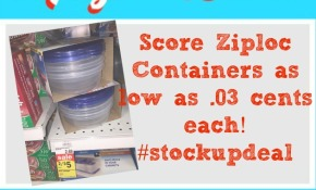 ziploc container deal at meijer