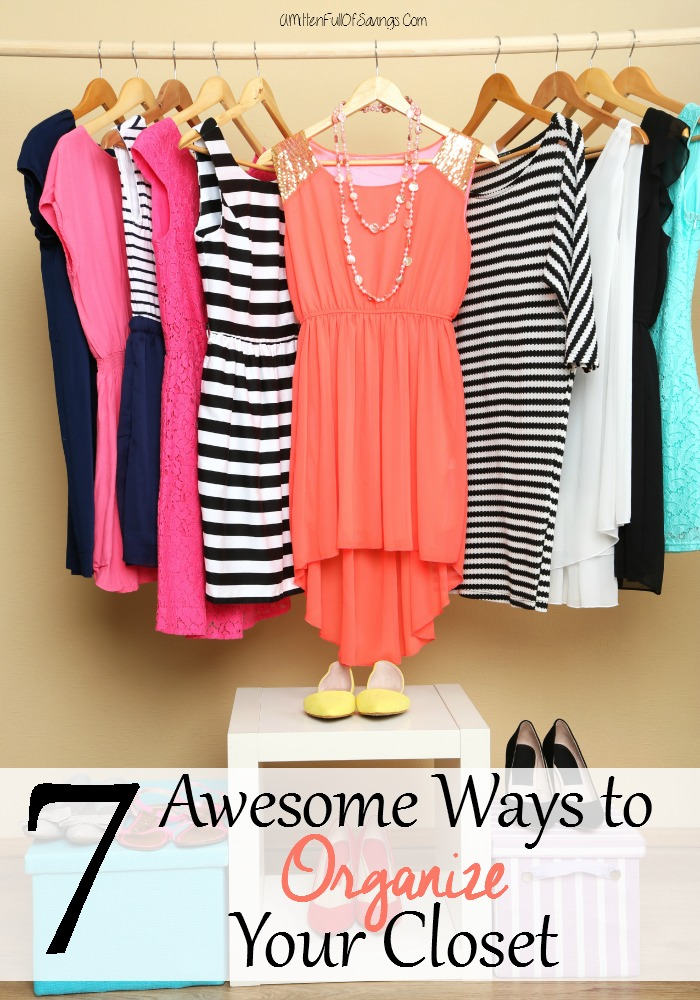 7 Awesome Ways To Organize Your Closet