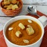 Easy Spicy Pumpkin Soup - easy pumpkin recipe, great for Fall or anytime of year!