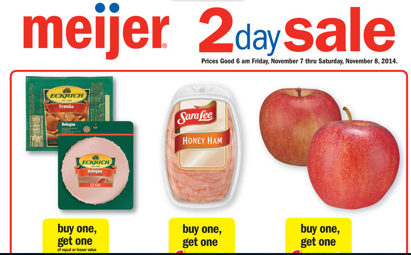 Meijer coupon codes november 2018