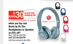 Beats By Dr Dre Headphones Just $77 This Week