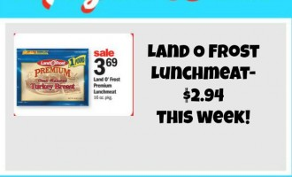 Land O Frost Lunchmeat deal at meijer