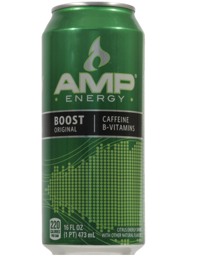 Coupon amp energy drink