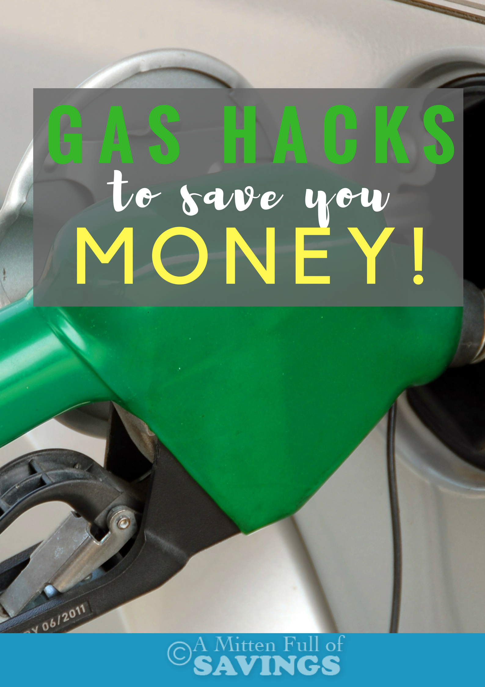 Gas fluctuates quite a bit, forcing us to constantly adjust our budgets. However, there are several tips and tricks you can do to save money on gas. Read how we save on gas with our gas hacks to save you money information on the blog!